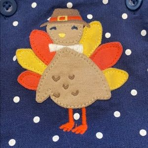 Carters Thanksgiving Turkey Dress 12 Mo